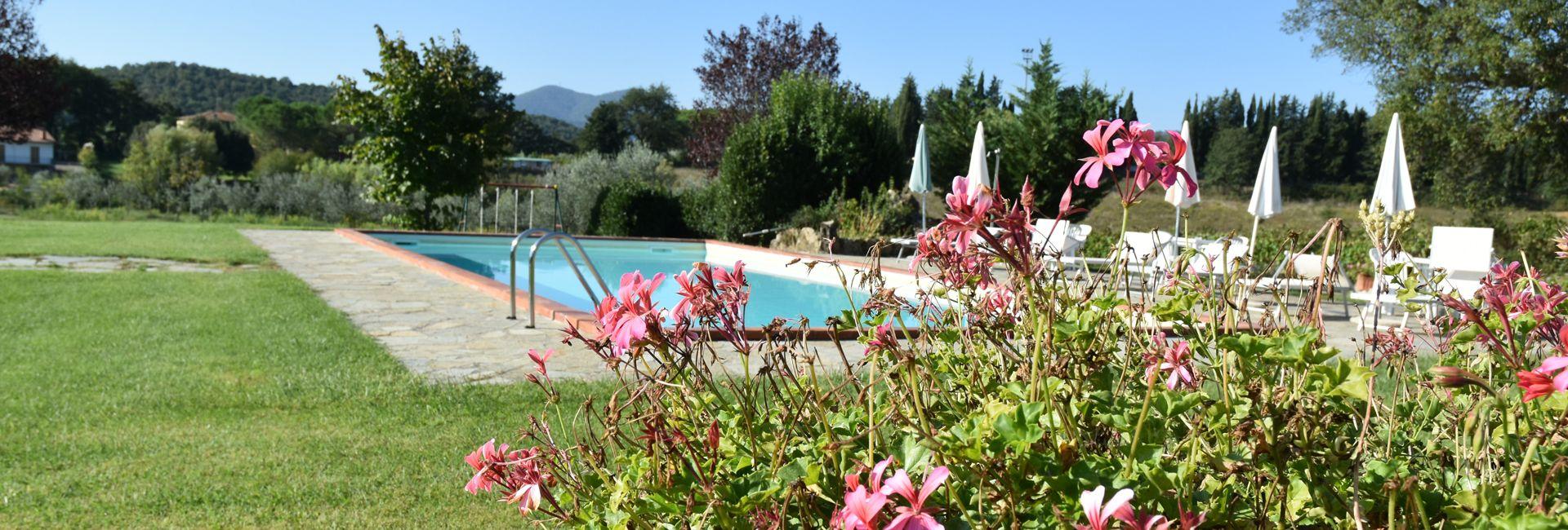 Agriturismo piscina Toscana mare